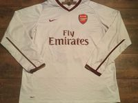 Global Classic Football Shirts | 2007  Arsenal Vintage Old Soccer Jerseys